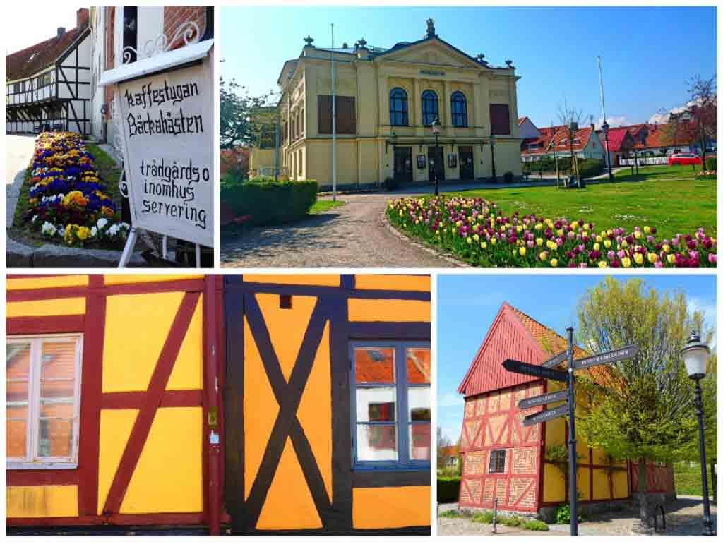 Ystad in Skane, Sweden