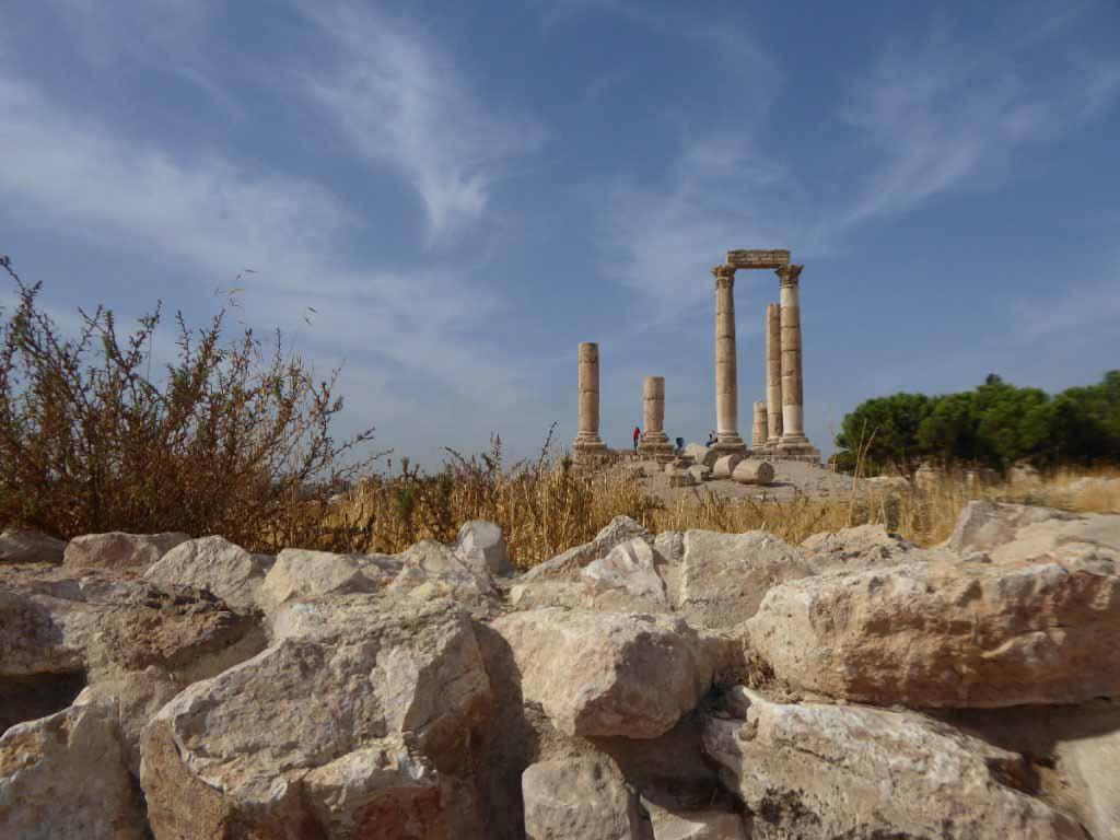 One week in Jordan, Hercules temple Amman