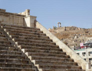 Amman, Jordan, Roman theatre, citadel, pasha rooftop bar,